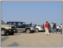 Aptech Qatar goes on a vacation to Desert Safari
