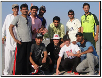Aptech Eleven goes Cricket Aficionado