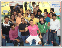 Aptech Qatar organized Bowling Tournament