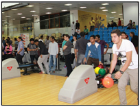 Bowling Tournament orgainized by Aptech Qatar